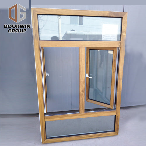 Factory hot sale window frame with glass and what is a clad