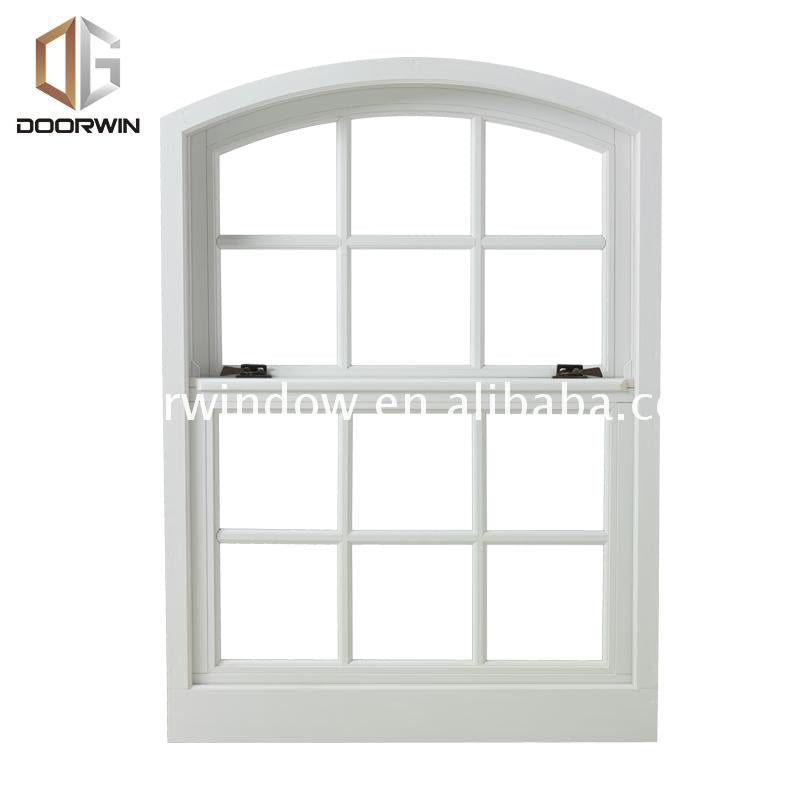 Factory made double hung window comparison brands aluminium windows price