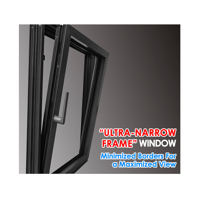 Factory outlet aluminium windows in china sash french