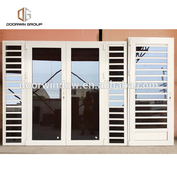 Factory outlet small louvered windows aluminium shutters for large