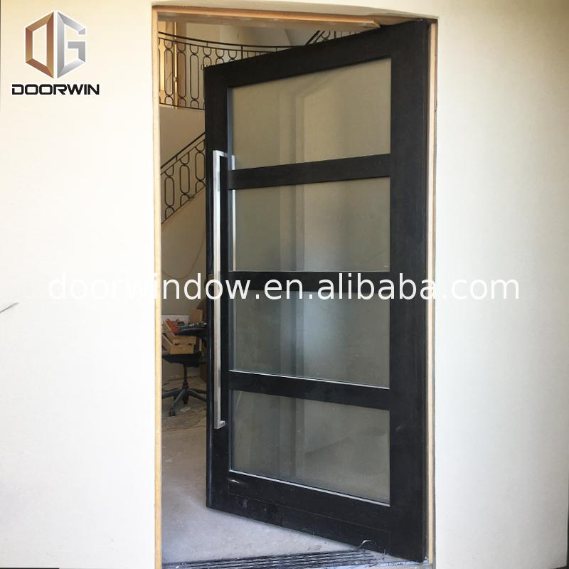 Factory price Manufacturer Supplier door with frosted glass insert inserts frame