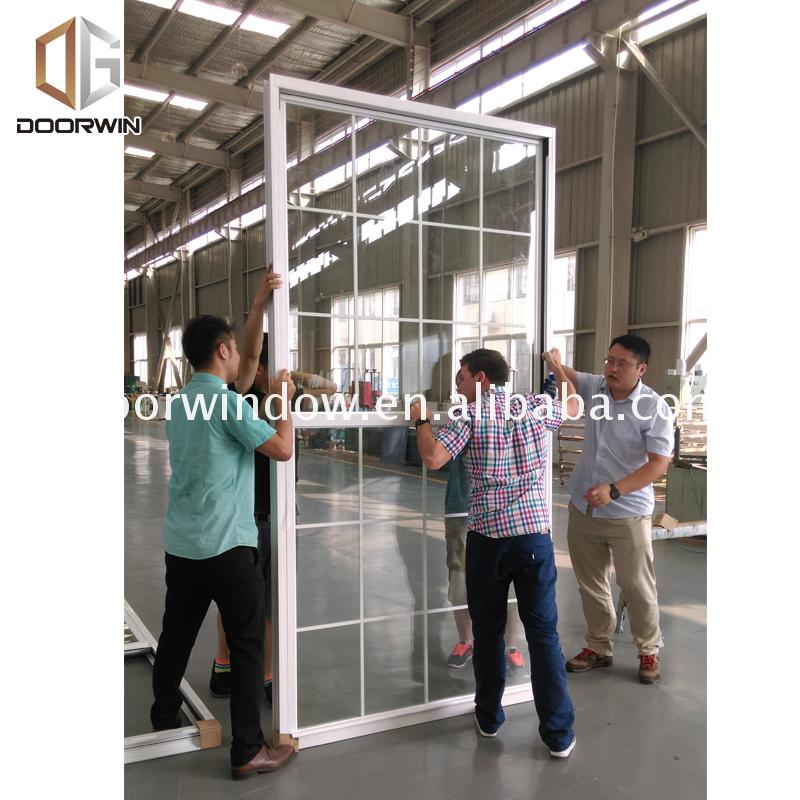 Factory price Manufacturer Supplier top rated double hung windows tinted aluminium