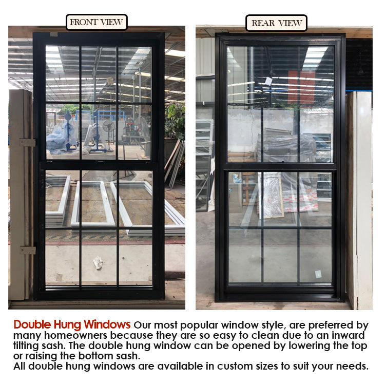 Factory price wholesale why is aluminium used for window frames can be where to buy double hung windows