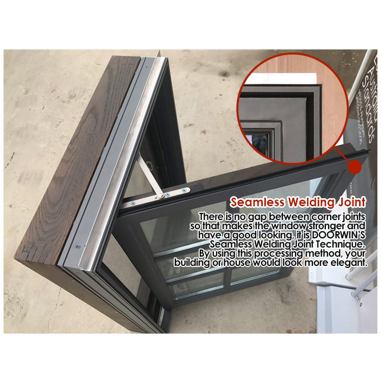 Factory sale american aluminum crank window hand windows with price