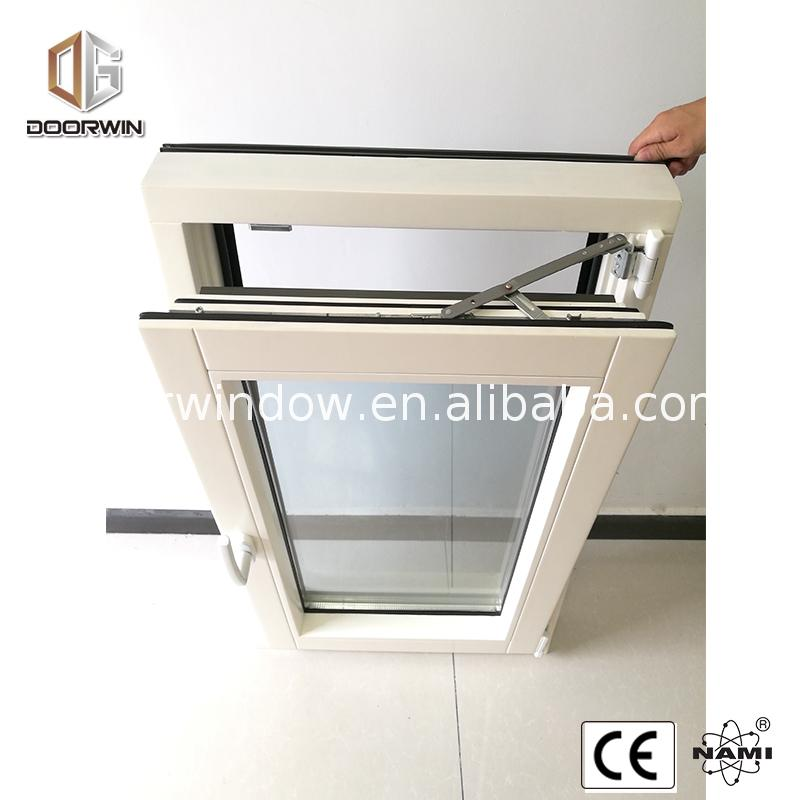 Factory sale wood clad aluminum window casement windows
