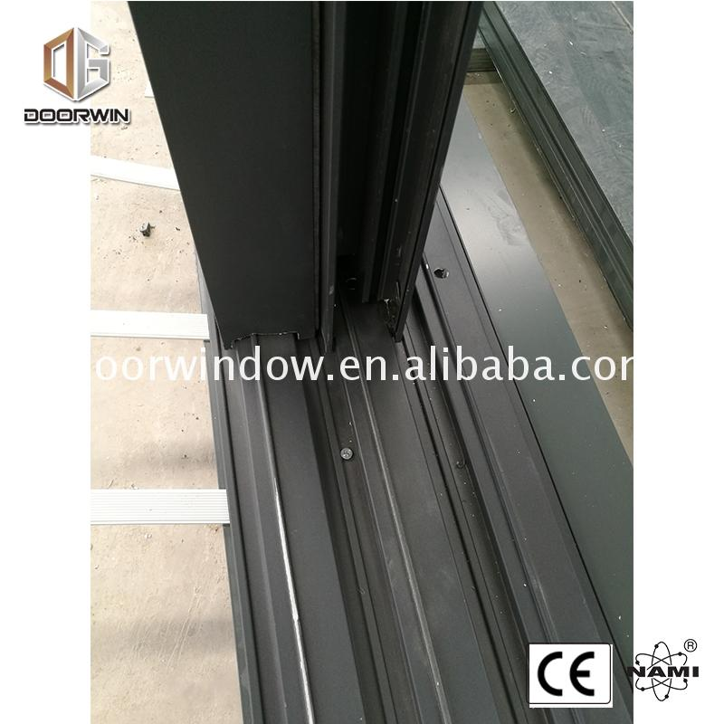 Factory supply discount price bathroom door with glass panel frosted rail