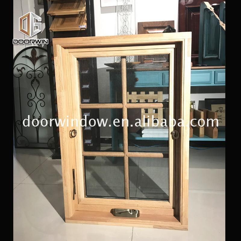 Fashion teak wood windows window design