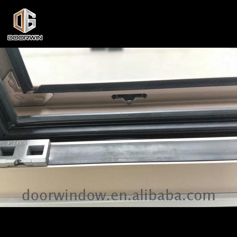 Fashionable awning windows excellent performance customer made aluminum window