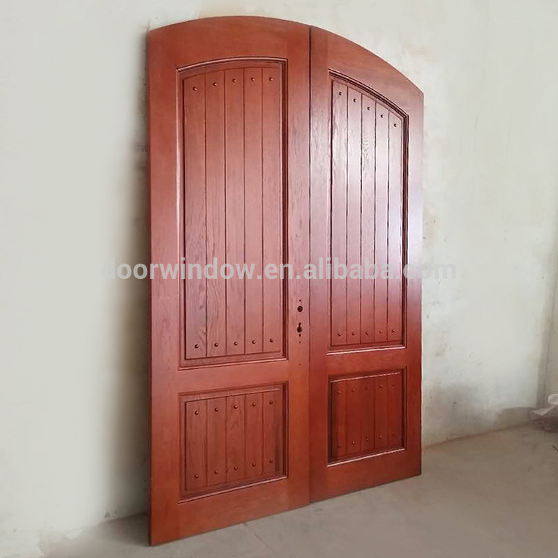 Finished Product House Front Main Double Door Design Made Of Red Oak W Wood Aluminium Doors And Windows Manufacturer In China,Duplex Apartment Design Plans