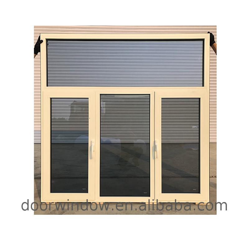 Fixed windows egress casement window double glazing aluminum awning