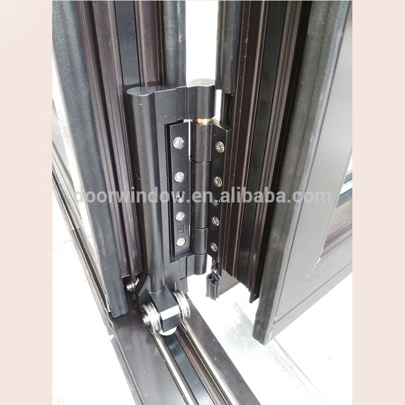 Folding door for kitchen fitting designs by Doorwin on Alibaba