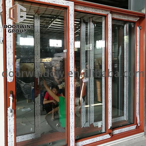 Folding sliding door fire rated doors industrial by Doorwin on Alibaba