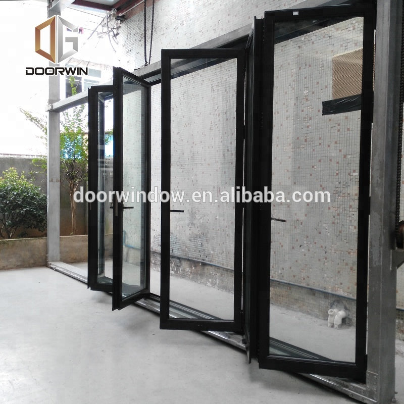 Folding wall partition shower doors screen folding screen door by Doorwin on Alibaba