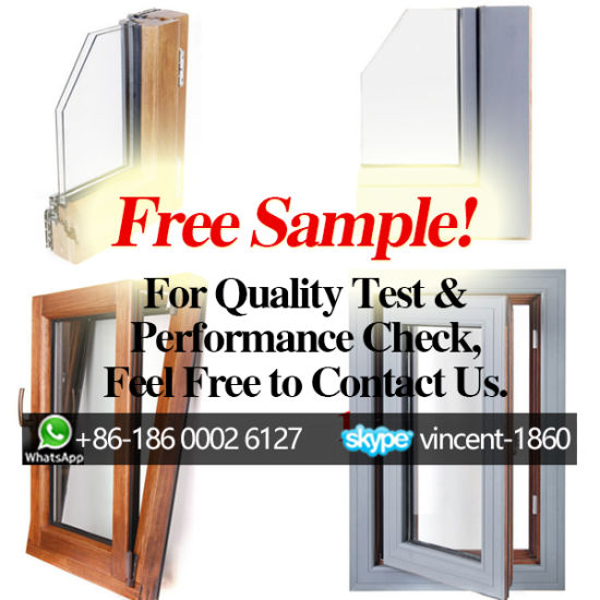 Free Sample! Wooden Window for Quality Test and Performance Check, Cut-Section of Wood Aluminum Quality Window - China Window, Wood Window