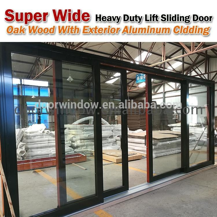 French Doors Four Panel Sliding Glass Door Best Price Aluminum by Doorwin on Alibaba