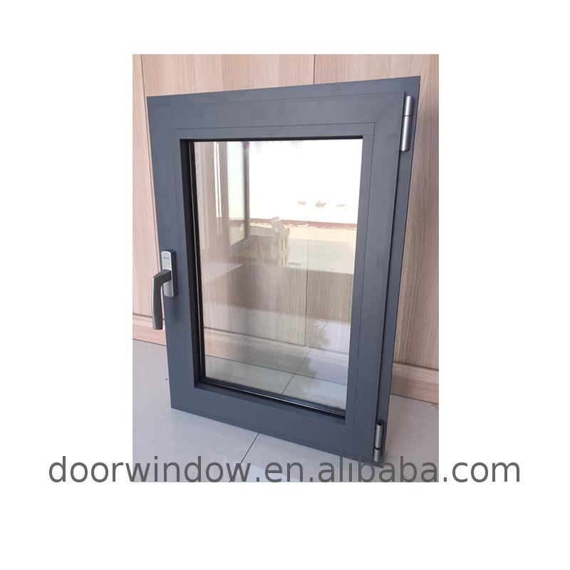 French aluminum window fabrication of windows and doors double glazing awning