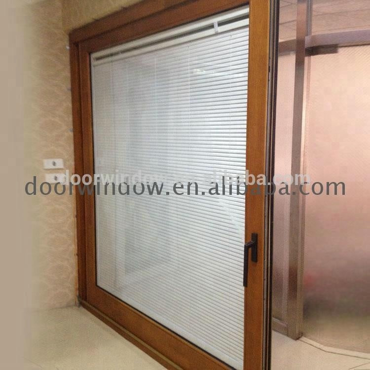 Glass sliding door system frameless for bathroom by Doorwin on Alibaba