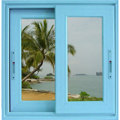 Good Price Aluminium Sliding Window with Tempered Glass - China Aluminum Horizontal Sliding Window, Aluminium Window