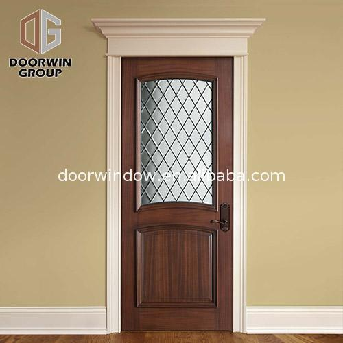 Good quality factory directly arched exterior doors entry door with sidelights