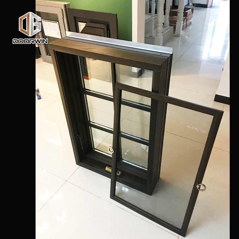 Good quality factory directly hand crank windows window grill wood Direct Price