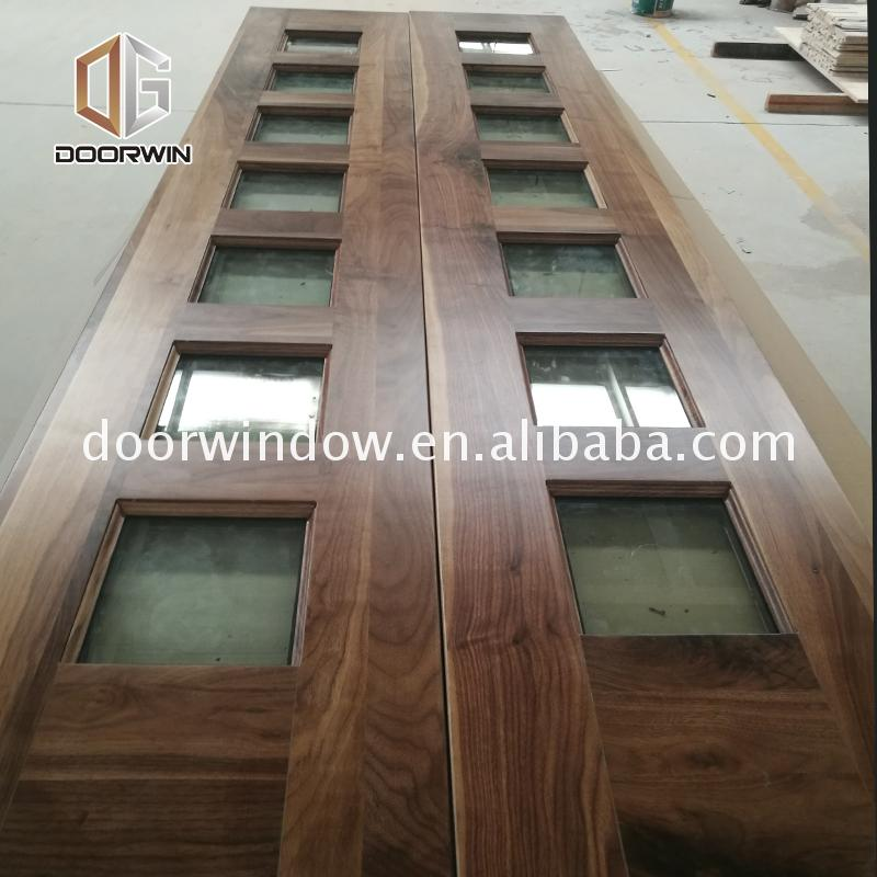 Good quality factory directly wood door frame construction finishes design photos