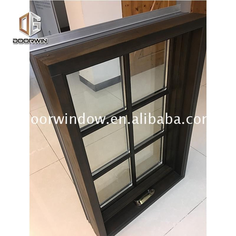 Grill design TEAK wood window with factory price
