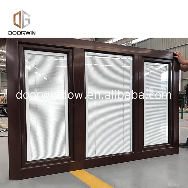 Heat insulation double glazed casement windows and cold window guangdong design
