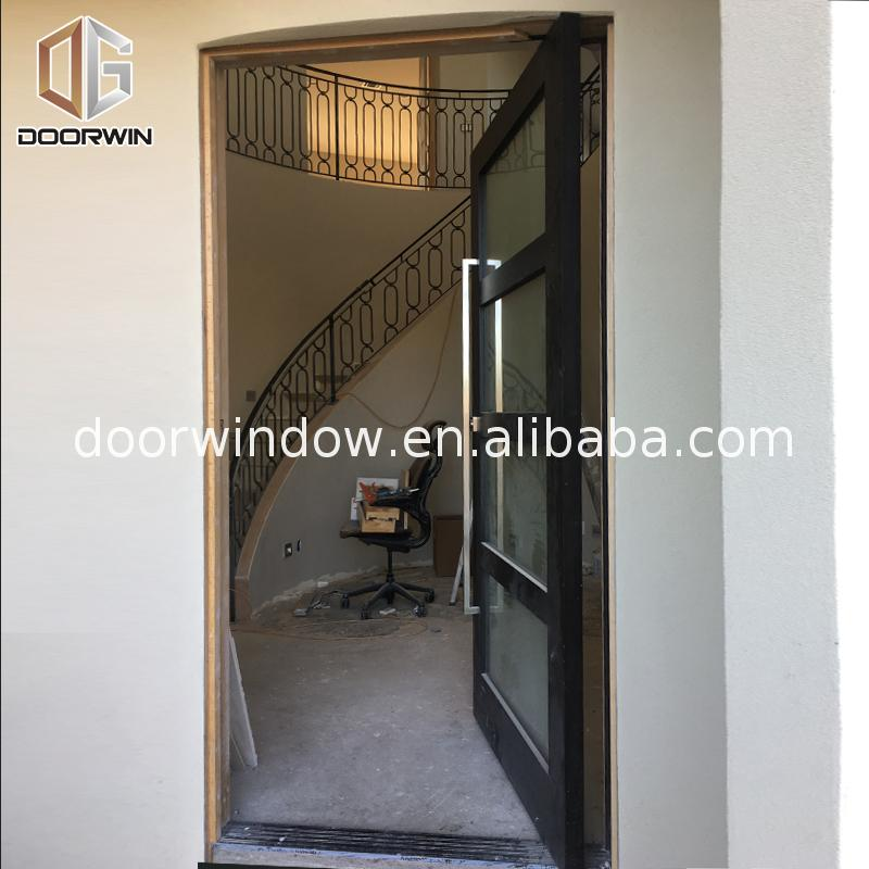 High Quality Wholesale Custom Cheap pre hung oak doors plain door office with glass inserts
