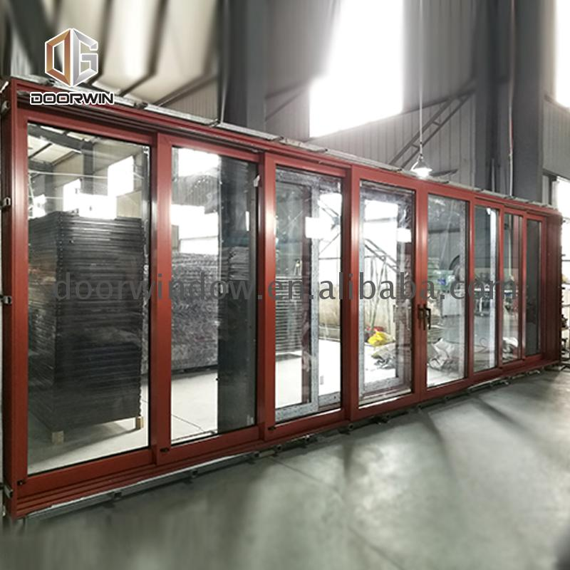 High Quality Wholesale Custom Cheap three panel exterior door with glass three pane sliding glass door