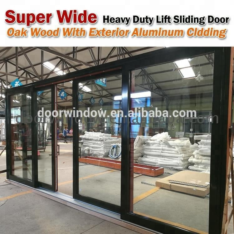 High-end Lift & Slide door lift or sliding glass Glass and Slider Doors design Price Garage For Luxurious Villaby Doorwin on Alibaba