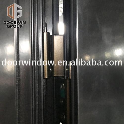 Hot Sale trend aluminium doors timber front entry double