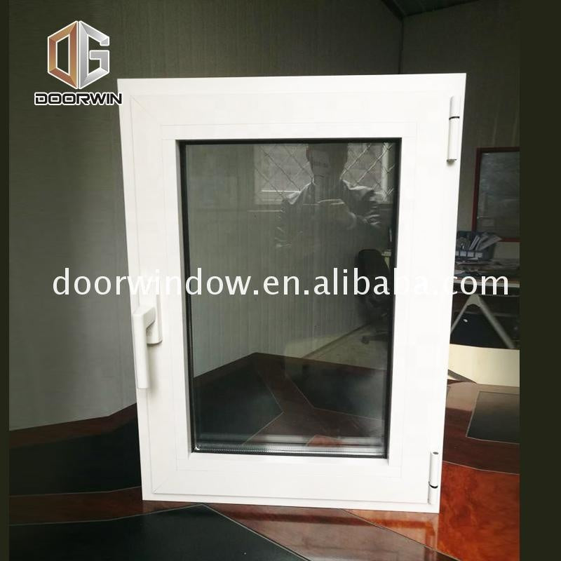 Hot new products casement window and Door made by factory swing open windows outswing with thermal break profileby Doorwin on Alibaba