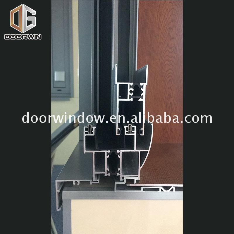 Hot selling new construction sliding windows multi slide maximum window