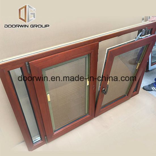 Integral Blinds Thermal Break Aluminum Tilt Turn Window - China Latest Window Designs, Window Manufacturers