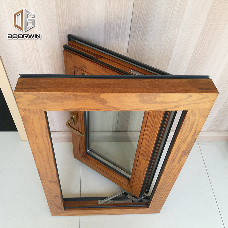 Las Vegas inexpensive professional double glazed aluminium wood windows 3 glass