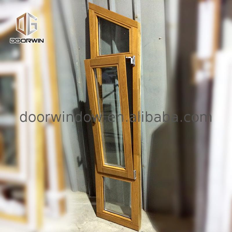 Latest design aluminum casement window impact hurricane windows by Doorwin on Alibaba