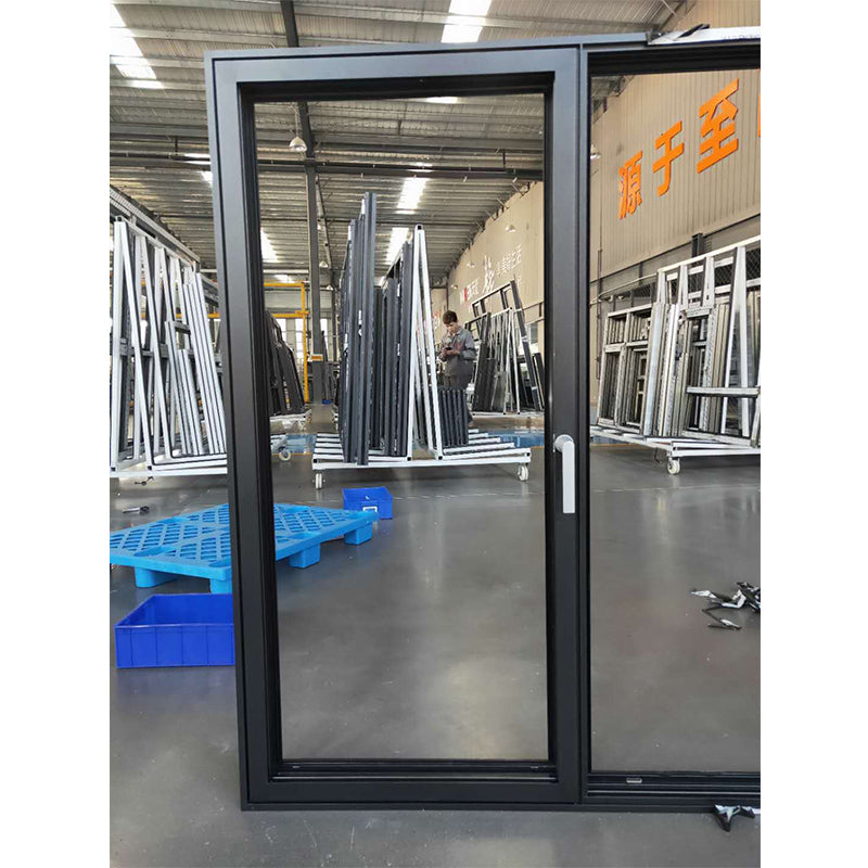 Long slim windows profile aluminium sliding doors