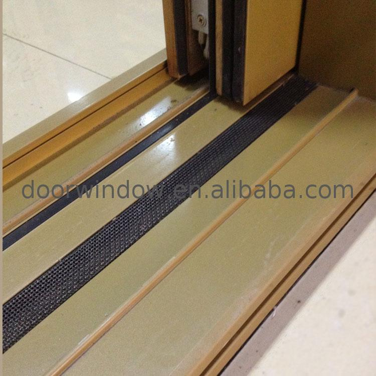 Low price sliding door setup security privacy