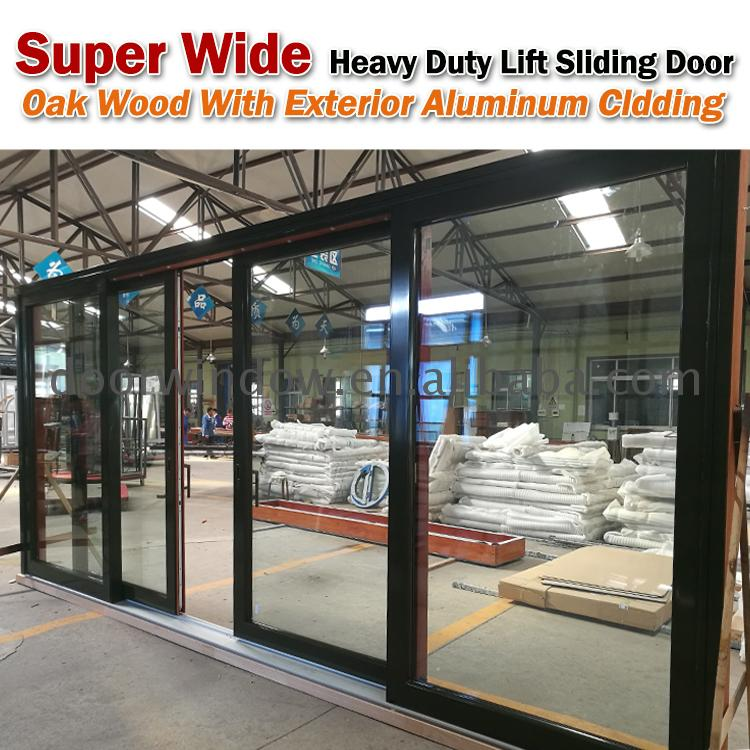 Low prices aluminum sliding door for living room with magnetic lock by Doorwin on Alibaba
