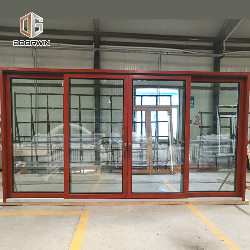 Manufactory Wholesale sliding glass doors open both sides in miami hawaii