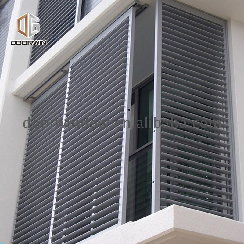 Manufactory Wholesale window door aluminium blind vanes installation