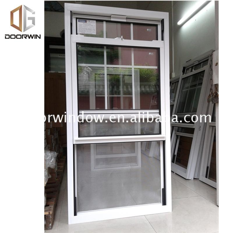 Manufactory direct aluminium sliding window with grill