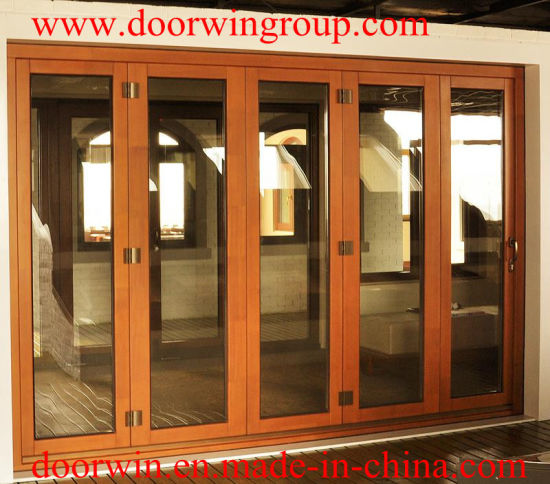 Modern Design Imported Solid Wood Folding Doors, Solid Teak/Oak, /Larch/Pine Wood Clad Aluminum Modern French Door - China Wood Door, Solid Wood Door