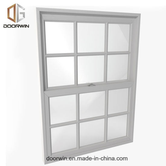 Modern Double Hung Vs Single Hung Windows with Double Glazed - China Double Hung Vs Single Hung Windows, Single Hung Window