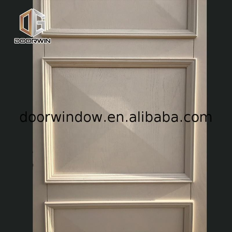 Modern bathroom door making swing doors main design solid wood by Doorwin on Alibaba