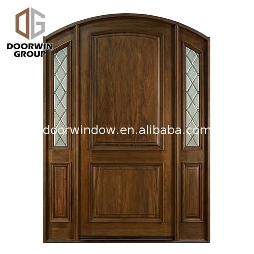 New design entry doors with side panels lites glass
