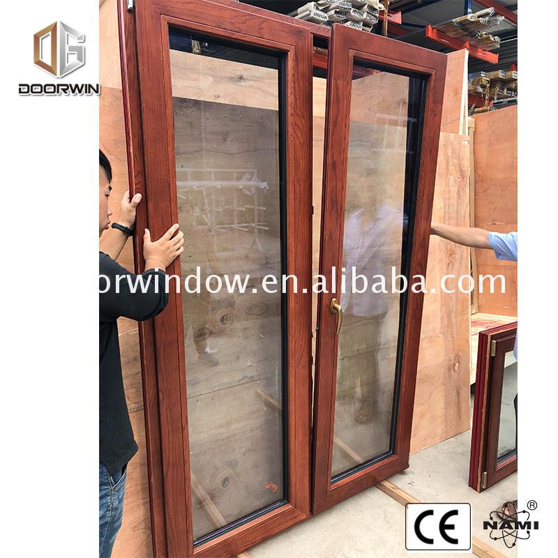 New original radius wood windows