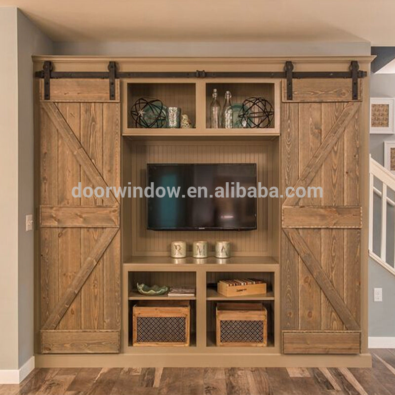 North central US OAK wood sliding door indoor doors for a house by Doorwin