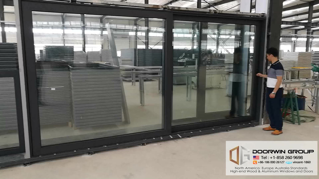 Aluminum sliding windows and doors with top quality tempered low-e toughen glass