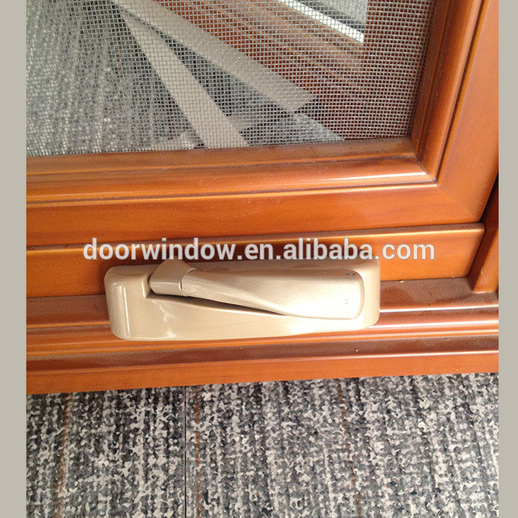 OEM Factory Aluminum Casement Window with security screen